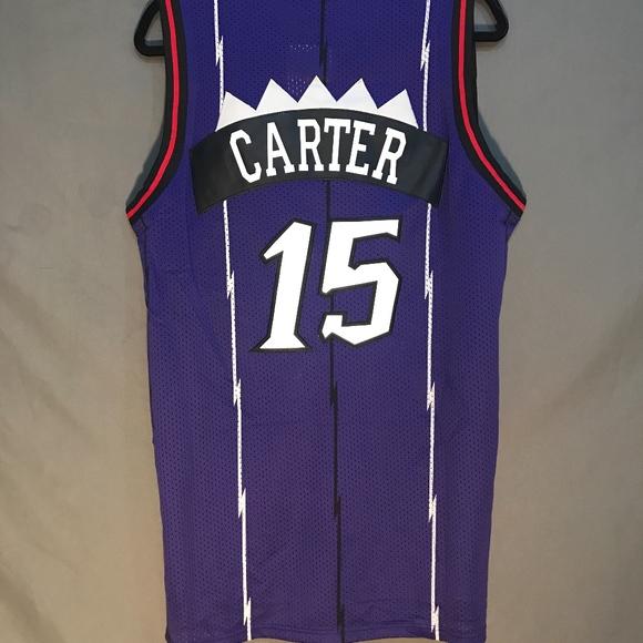 timeless design f0751 fb08d Vince Carter Toronto Raptors Jersey Stitched NWT NWT